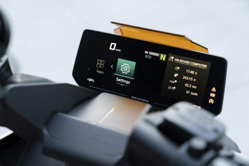 BMW apresenta conceito de scooter elétrico chamado Motorrad Definition CE 04