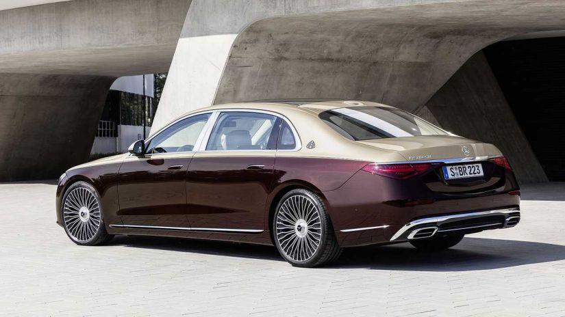 Mercedes lança limusine de R$ 1,13 milhão Maybach Classe S