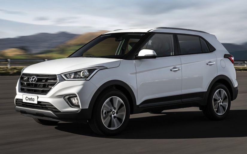 Hyundai HB20 e Creta terão recall por problema no freio