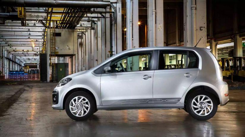Novo Volkswagen Up! de quatro lugares deve ficar para o ano que vem