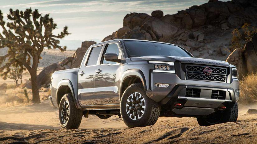 Nissan Frontier 2022 estreia nos EUA com novo design e motor V6