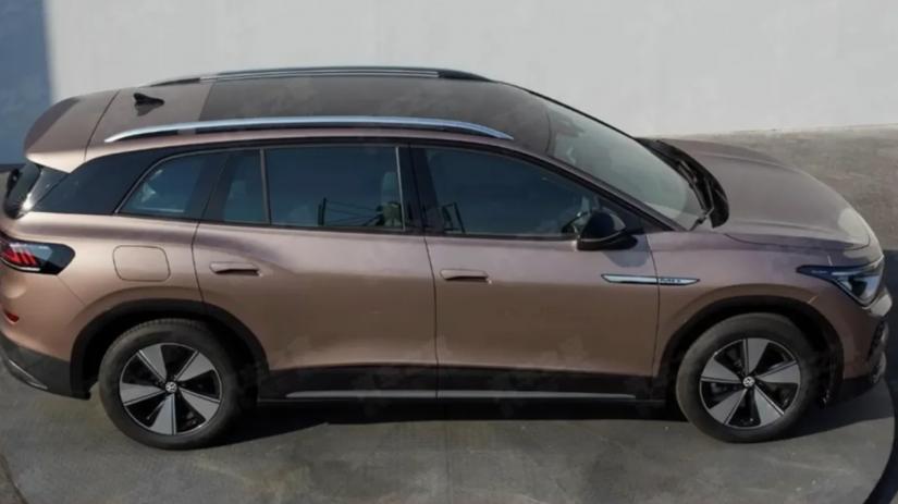 Vazam imagens do novo SUV elétrico da VW ID.6