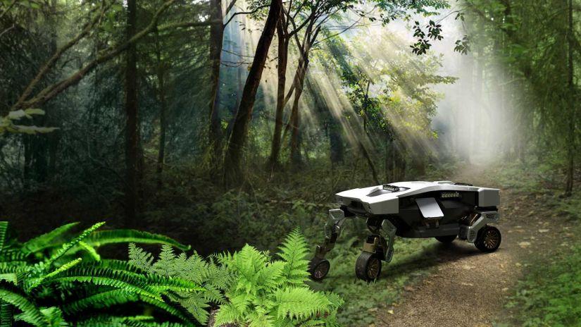 Conheça Tiger: veículo/robô que pode caminhar por terrenos inacessíveis