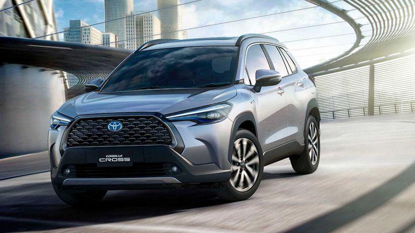 Toyota Corolla Cross ganha data de lançamento no Brasil