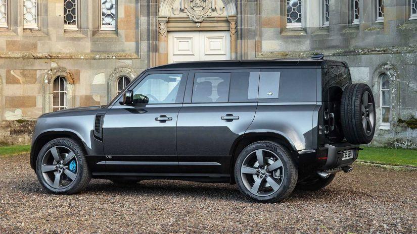 Novo Land Rover Defender com V8 será o mais poderoso da história