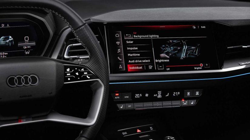 Audi revela imagens do interior do Q4 E-tron