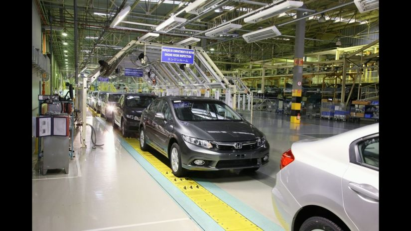 Honda anuncia paralisação da fabricação de carros por uma semana