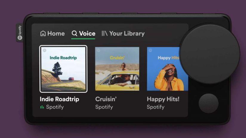 Spotify cria equipamento para ouvir música dentro do carro
