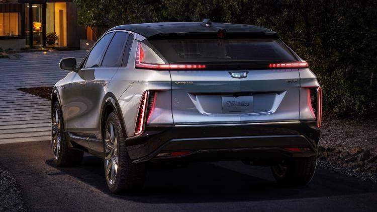 Cadillac apresenta SUV Lyriq 2023, modelo elétrico e futurista