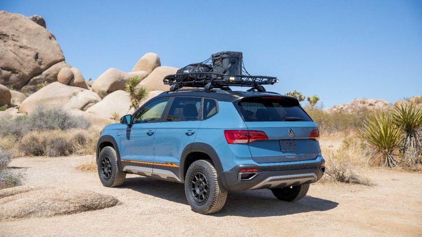 Volkswagen Taos ganha conceito aventureiro