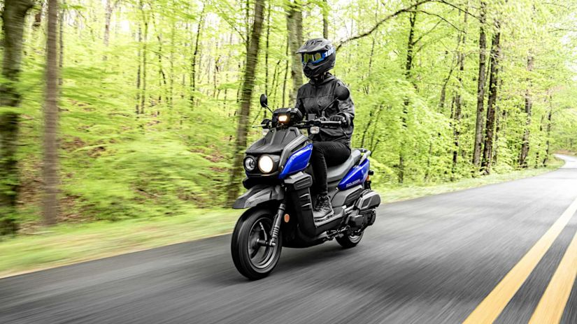 Yamaha lança novo scooter aventureiro Zuma 125
