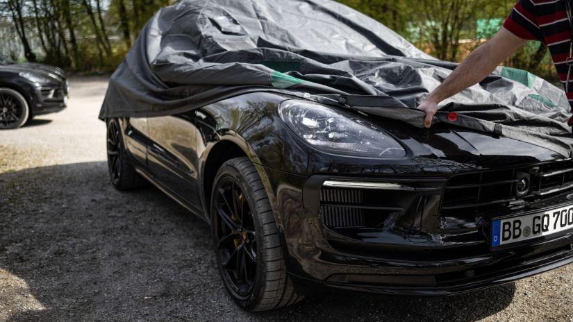 Porsche Macan 2022 ganhará mudanças visuais e novo motor