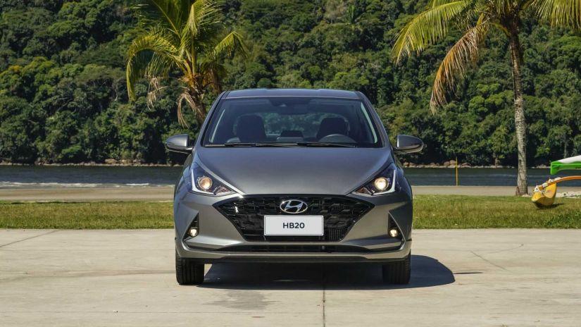 HB20 é o carro de passeio mais vendido no 1º semestre de 2021 no Brasil