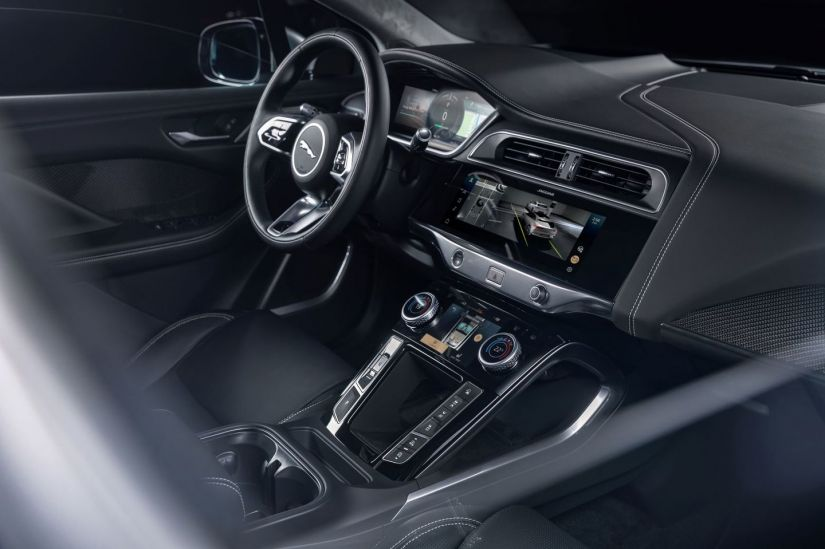 Novo Jaguar I-Pace chega com purificador de ar e novo sistema de entretenimento