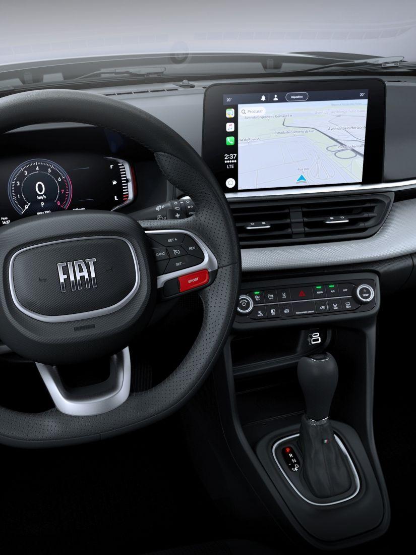 Fiat mostra primeiras imagens do interior do Pulse