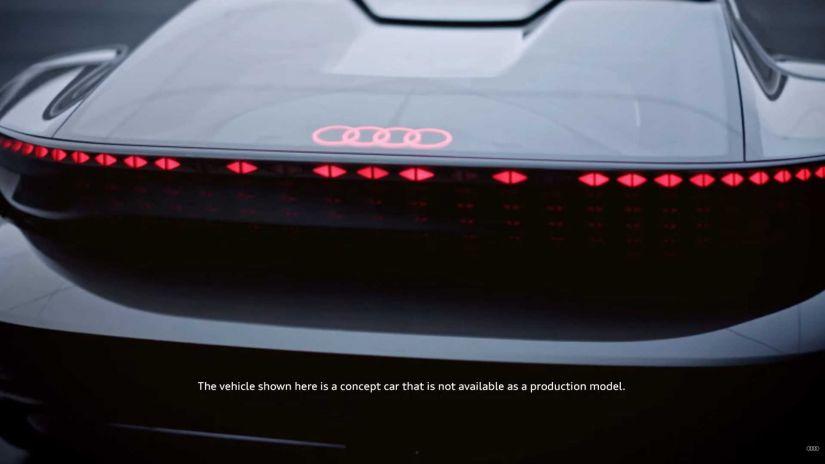 Audi revela primeiras imagens de novo supercarro autônomo