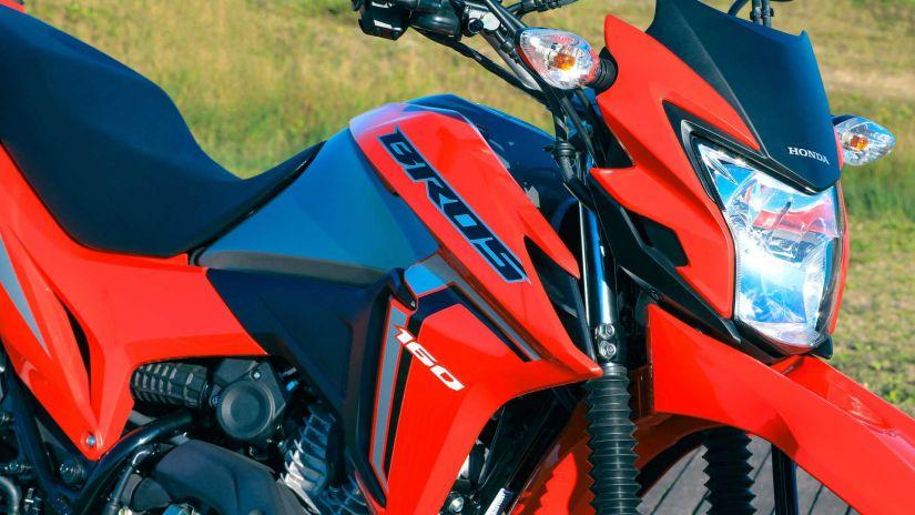 Honda lança Bros 160 2022 com novos elementos visuais - Foto 1