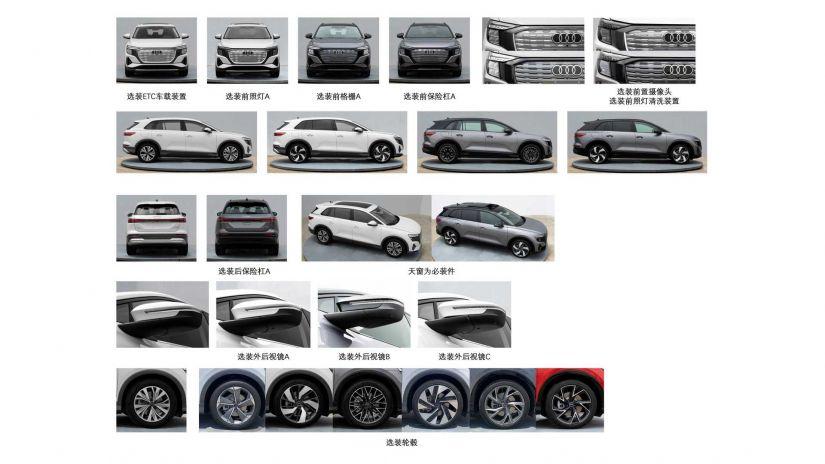 Audi revela novo SUV elétrico de sete lugares Q5 e-tron