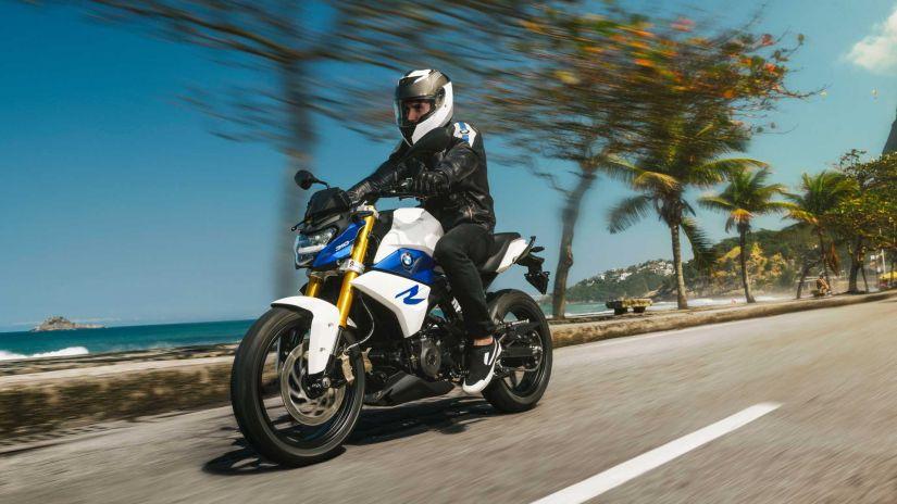 BMW apresenta mudanças para moto G 310 R 2022