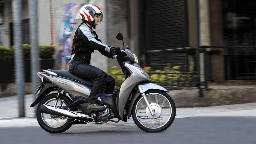 Honda lança nova Biz 2022 com novas opções e preços atualizados - Foto 1