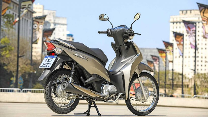 Honda lança nova Biz 2022 com novas opções e preços atualizados - Foto 3