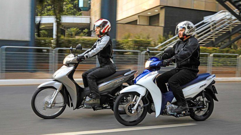 Honda lança nova Biz 2022 com novas opções e preços atualizados - Foto 4