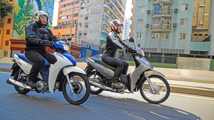Honda lança nova Biz 2022 com novas opções e preços atualizados - Foto 5