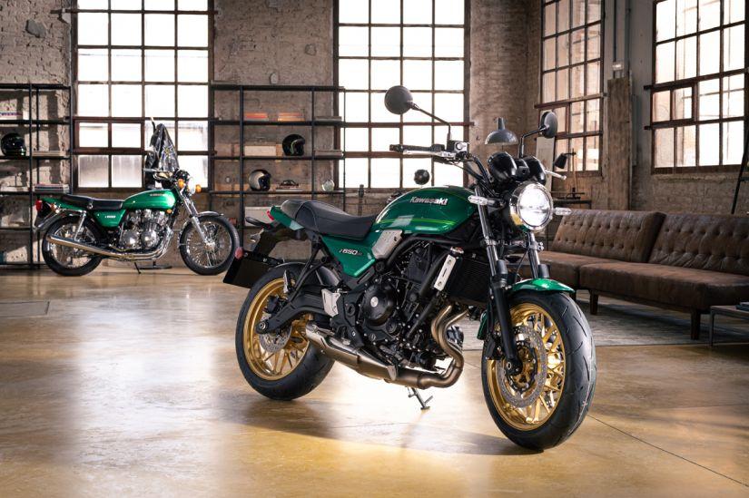 Kawasaki apresenta Z650 RS 2022
