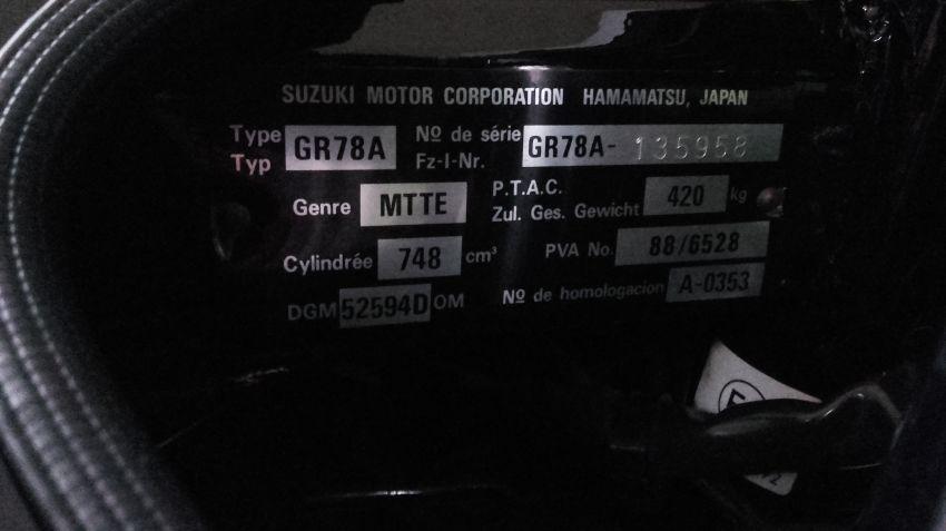 Suzuki GSX 750 F - Foto #7