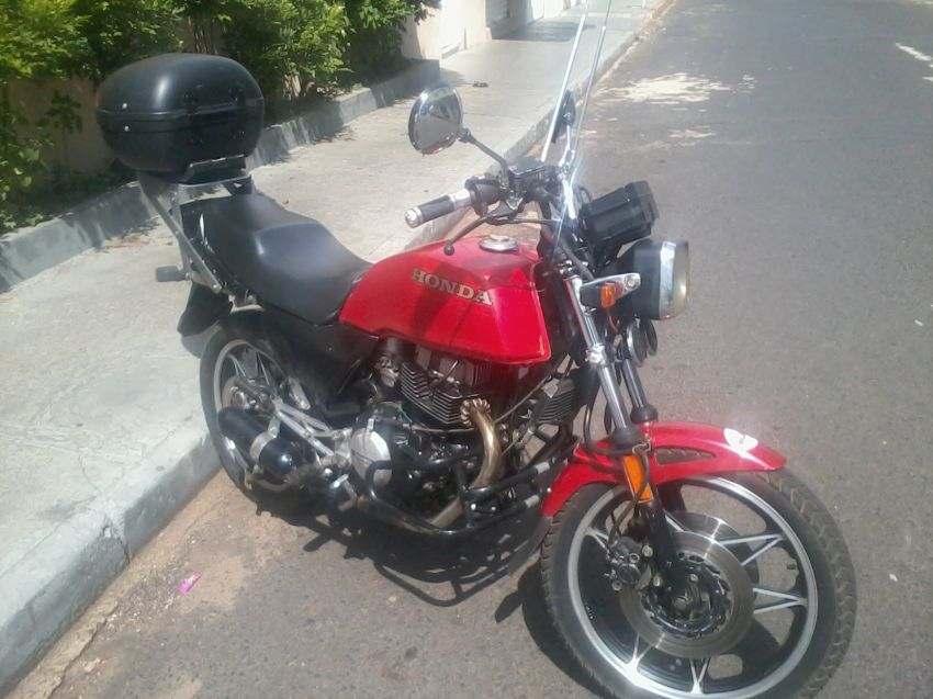 Honda CB 450 TR - Foto #3