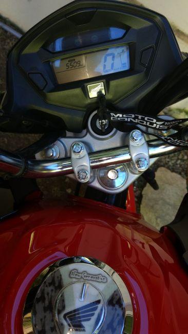 Honda CG 150 Fan ESDi - Foto #8