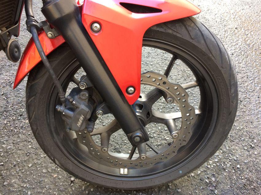 Honda CB 500F (STD) - Foto #8