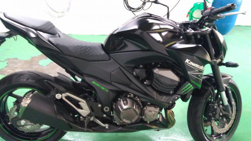 Kawasaki Z 800 - Foto #7