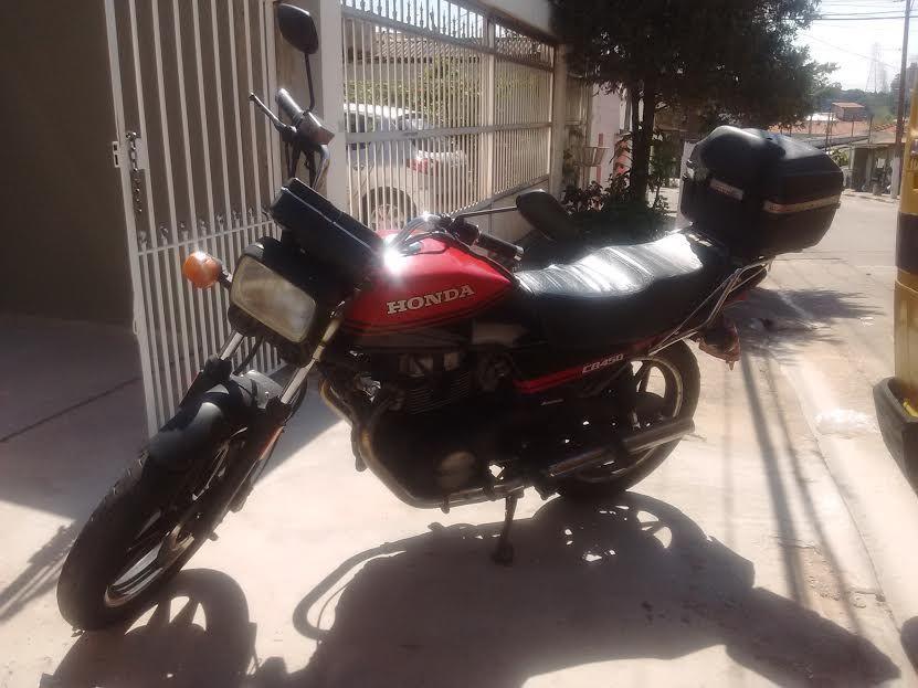 Honda CB 450 Dx - Foto #4