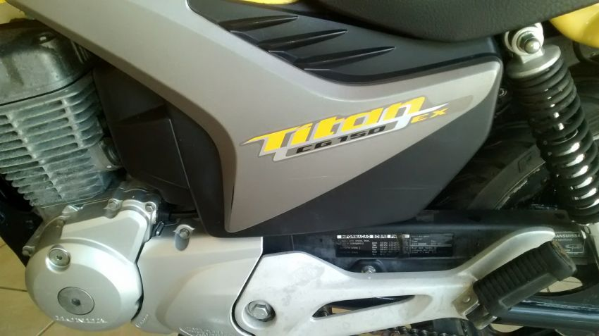 Honda CG 150 Titan EX - Foto #7
