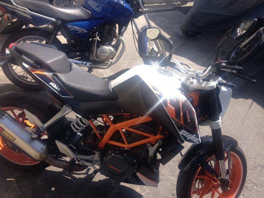 KTM Duke 390 - Foto #7