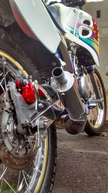 Yamaha DT 200 R - Foto #4