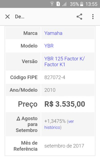 Yamaha YBR 125 Factor K - Foto #9