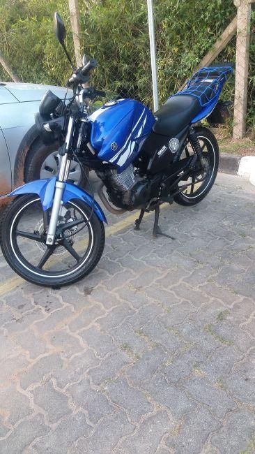 Yamaha YBR 125 Factor Racing Blue ED