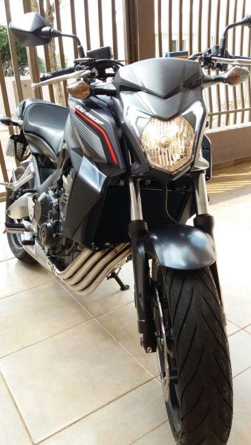 Honda CB 650F - Foto #8