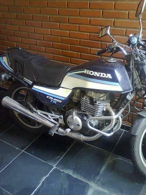 Honda CB 450 TR - Foto #1