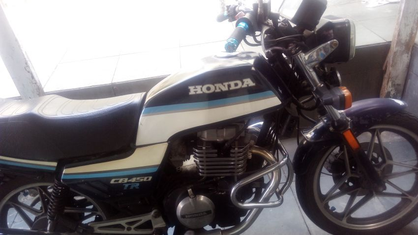 Honda CB 450 TR - Foto #2