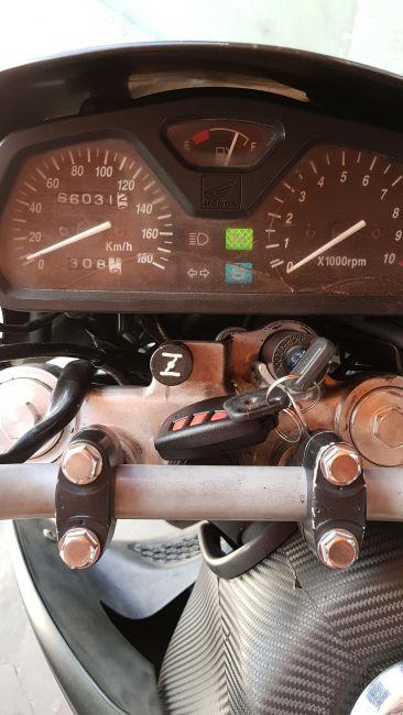 Honda NX 4 Falcon 400 - Foto #5