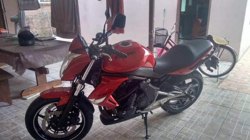 Kawasaki ER 6N - Foto #7