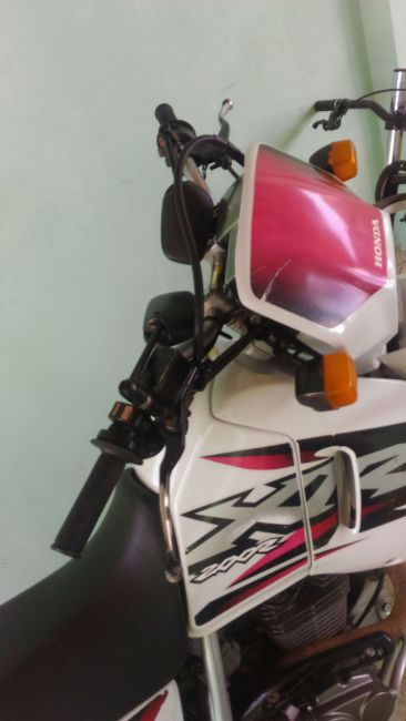 Honda XR 200 R - Foto #1