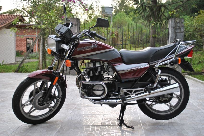 Honda CB 450 Dx - Foto #1