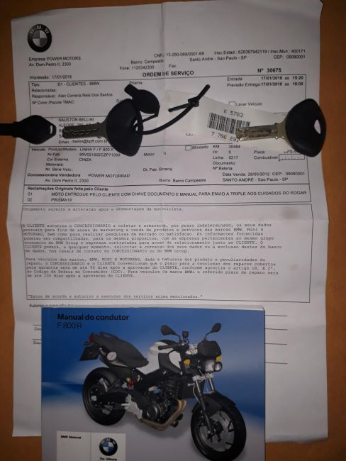 BMW F 800 R - Foto #1