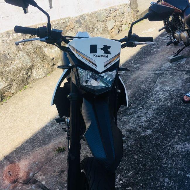 Kawasaki D Tracker X - Foto #1