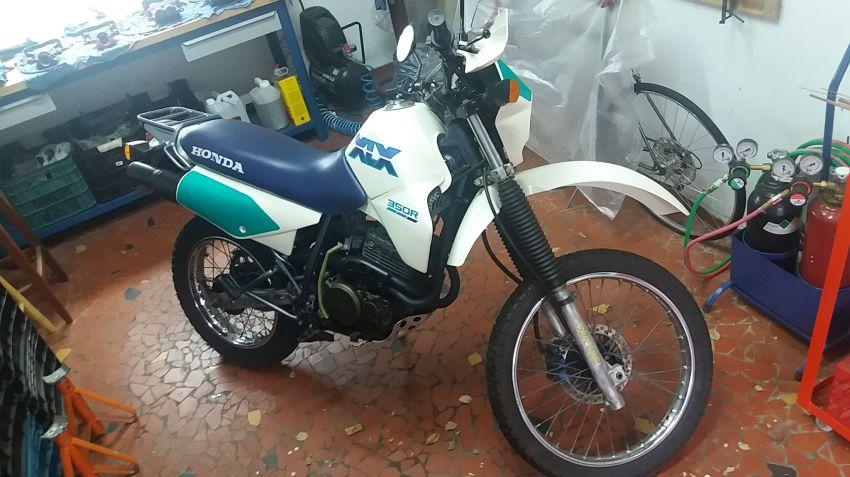 Honda XLX 350 R - Foto #8