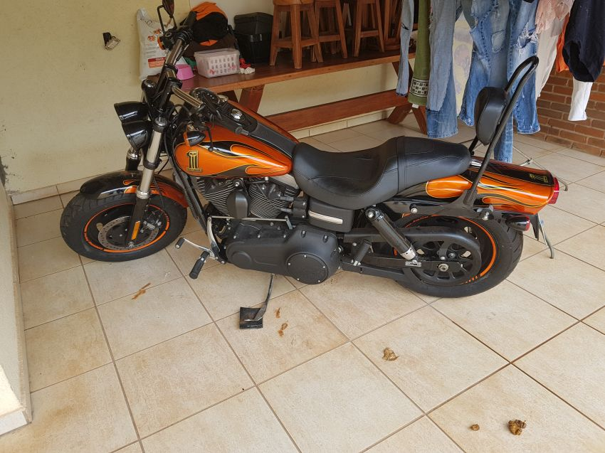 Harley-Davidson Dyna Fat Bob - Foto #2